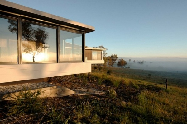panorama house with interesting architecture beautiful design