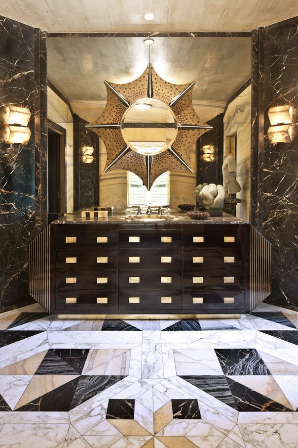 How to Style your Bathroom like Kelly Wearstler Style your Bathroom like Kelly Wearstler How to Style your Bathroom like Kelly Wearstler Room Decor Ideas How to Style your Bathroom like Kelly Wearstler Kelly Wearstler Interiors Luxury Interior Design 3