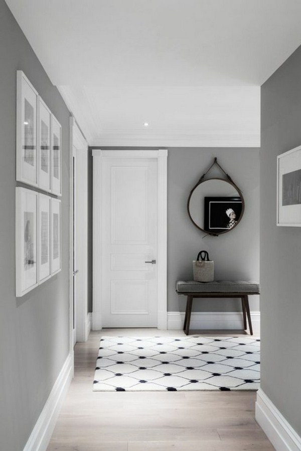 Carpet in the hallway white corridor edge modern living ideas