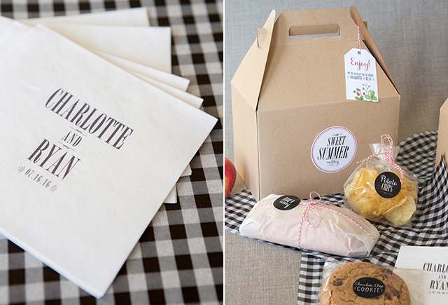 picnic ideas, boxed lunch picnic, boxed lunch wedding, brunch wedding ideas