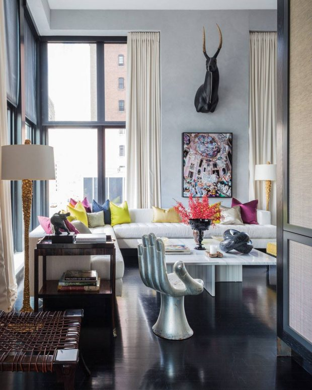 Summer Living Room Ideas: 15 Colorful Living Rooms By Jamie Drake For Summer Homes