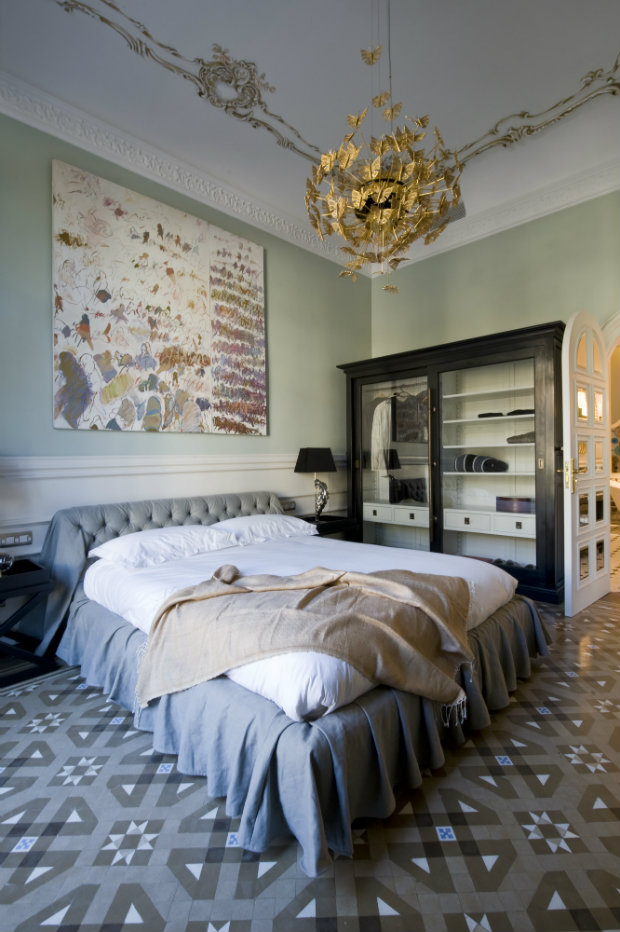The whimsical Nymph Chandelier from KOKET is featured in the Barcelona bedroom project by Recdi8 Studio. Summer Bedroom Ideas Inspirational Summer Bedroom Ideas summerbedrooms5 koket love happens