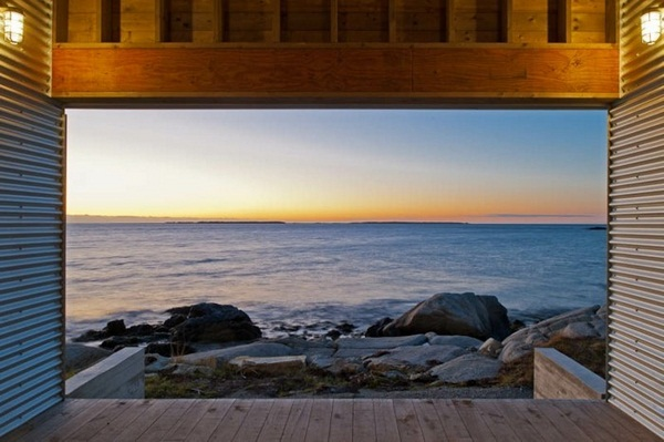 interesting lookout natural environment house with panorama
