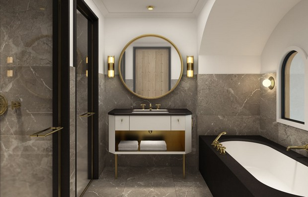 Bathroom Designs by David Collins to Inspire You Bathroom Designs by David Collins Bathroom Designs by David Collins to Inspire You Room Decor Ideas Bathroom Designs by David Collins to Inspire You Luxury Bathroom Luxury Homes 8