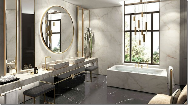 Bathroom Designs by David Collins to Inspire You Bathroom Designs by David Collins Bathroom Designs by David Collins to Inspire You Room Decor Ideas Bathroom Designs by David Collins to Inspire You Luxury Bathroom Luxury Homes 9