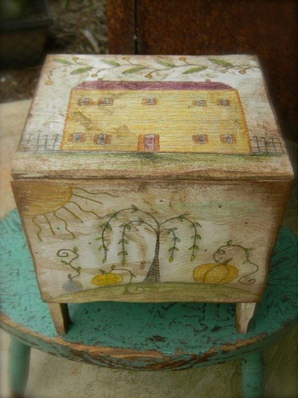 Toy boxes from the old days