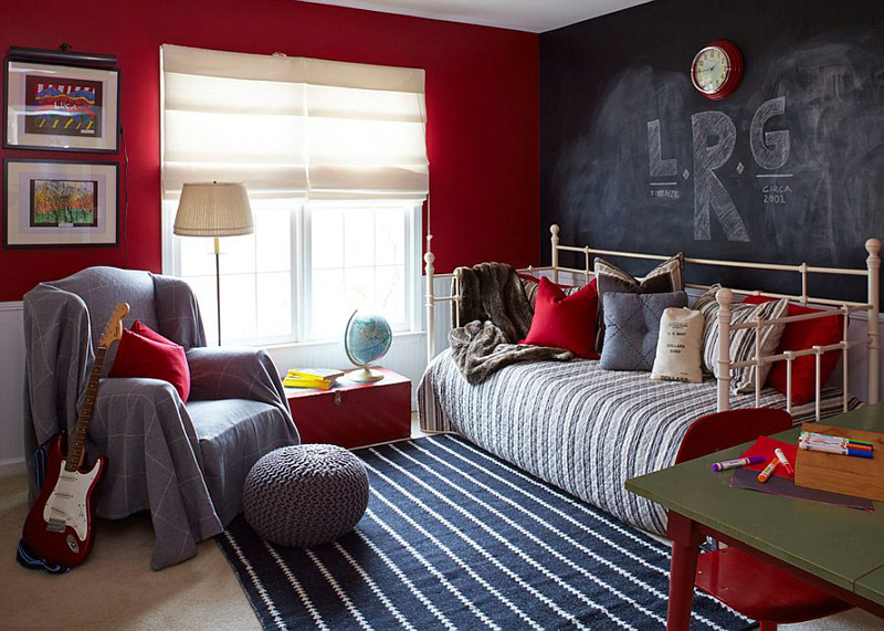 Creative Bedrooms with Chalkboards-DESIGNRULZ (4)