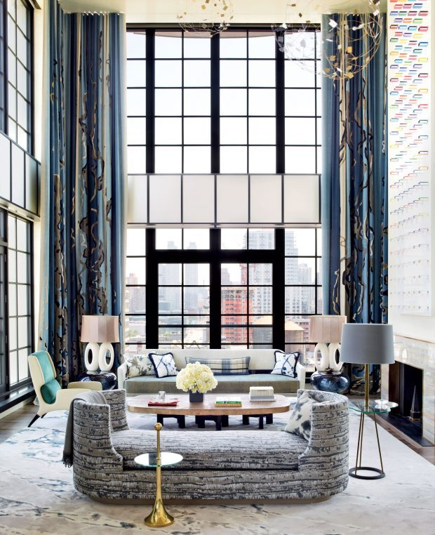 Jamie Drake 15 colorful living roomsjamie drake for summer homes - decor10