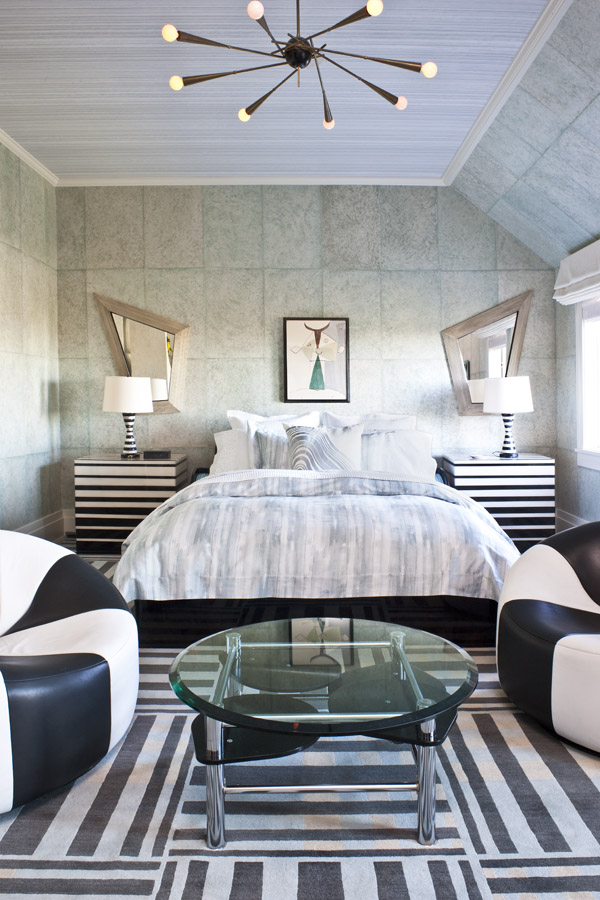 Beautiful bedrooms by kelly wearstler to copy this summer for Beautiful interior design bedroom