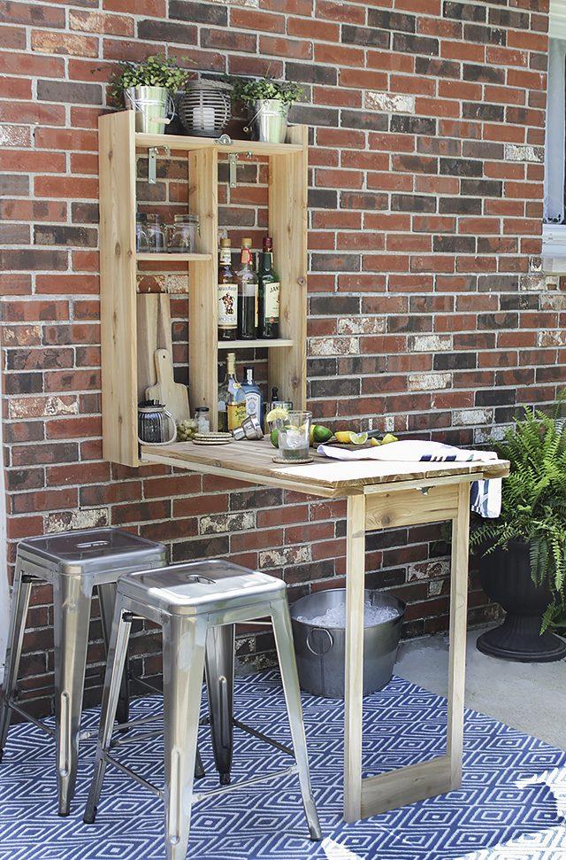 DIY cedar Murphy bar