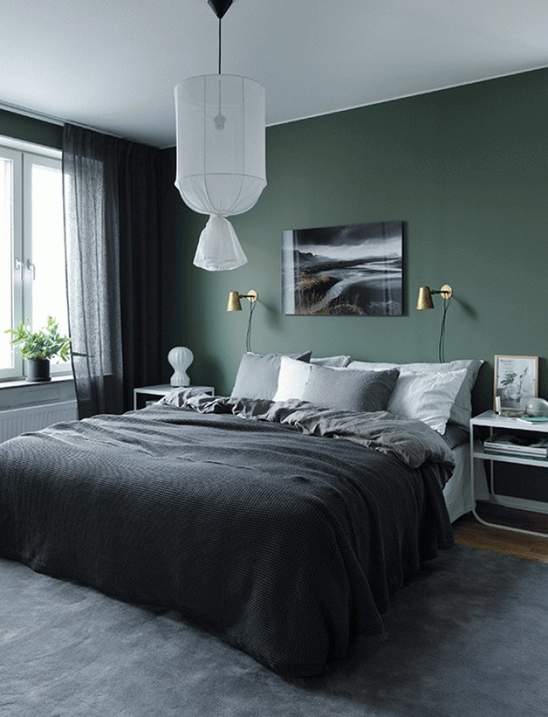 Trendy Color Schemes for Master Bedroom Color Schemes for Master Bedroom Trendy Color Schemes for Master Bedroom Room Decor Ideas Trendy Color Schemes for Master Bedroom Color Palette Luxury Bedroom Green Details 2