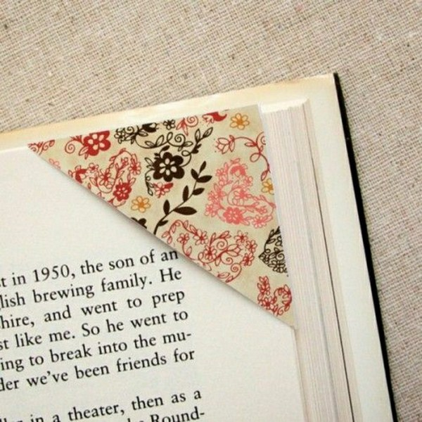 Bookmark making beautiful and artistically