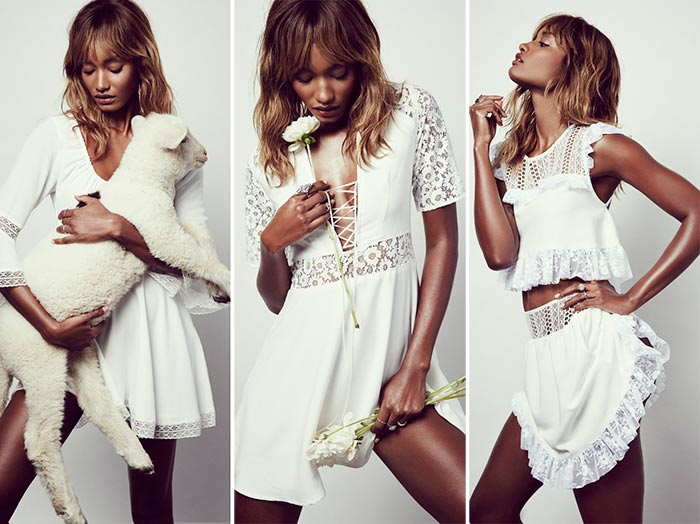 For Love & Lemons Summer 2016 White Dresses