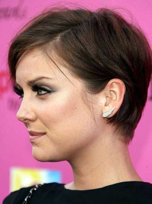 Short Hair Styles for Women Over 40-6