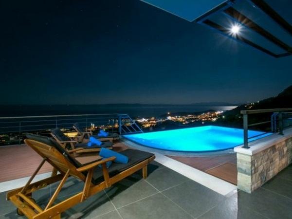 very beautiful model pool great panorama house