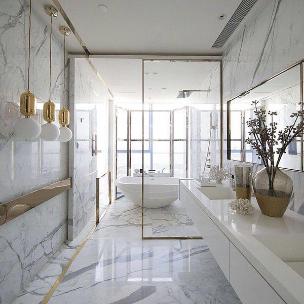 Glamorous Bathrooms By Kelly Hoppen To Copydecor10 Blog