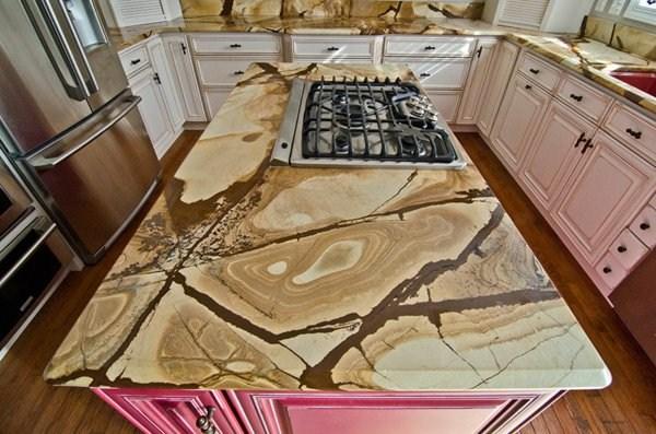 woodstone worktop for the kitchen