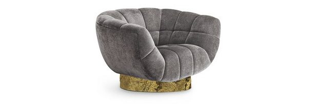 Stylish Accent Chairs in Grey to Use on Fall Living Rooms stylish accent chairs in grey Stylish Accent Chairs in Grey to Use on Fall Living Rooms Room Decor Ideas Stylish Accent Chairs in Grey to Use on Fall Living Rooms Luxury Interior Design Luxury Homes Essex Chair by Brabbu e1464619251628