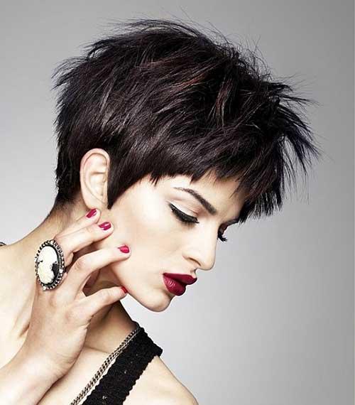 Short Hairstyles for Dark Hair