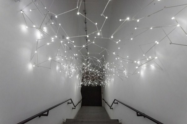 Museum of contemporary art a light installation