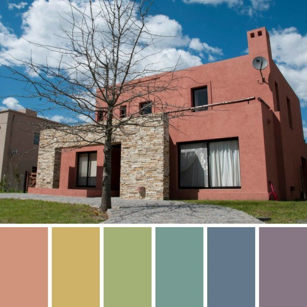 Facades and exterior paint colors (6)
