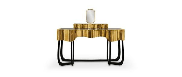 Go Bold: Statement Pieces to Use in Bedroom Decor Statement Pieces to Use in Bedroom Decor Go Bold: Statement Pieces to Use in Bedroom Decor Room Decor Ideas Go Bold Statement Pieces to Use in Bedroom Decor Luxury Bedroom Bedroom Design Sinuous Dressing Table by Maison Valentina e1466093549740
