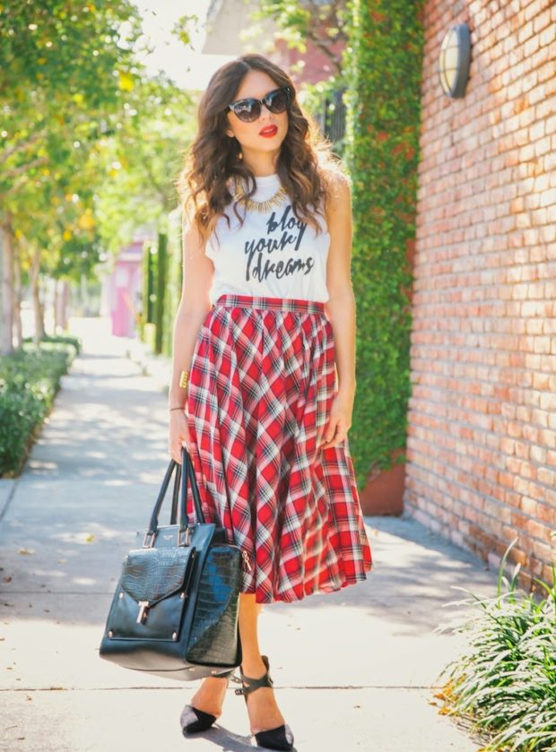 17 Chic Ways to Wear Midi Skirt This Summer (Part 2)