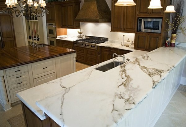 elegant artwork plate of natural stone for kitchen