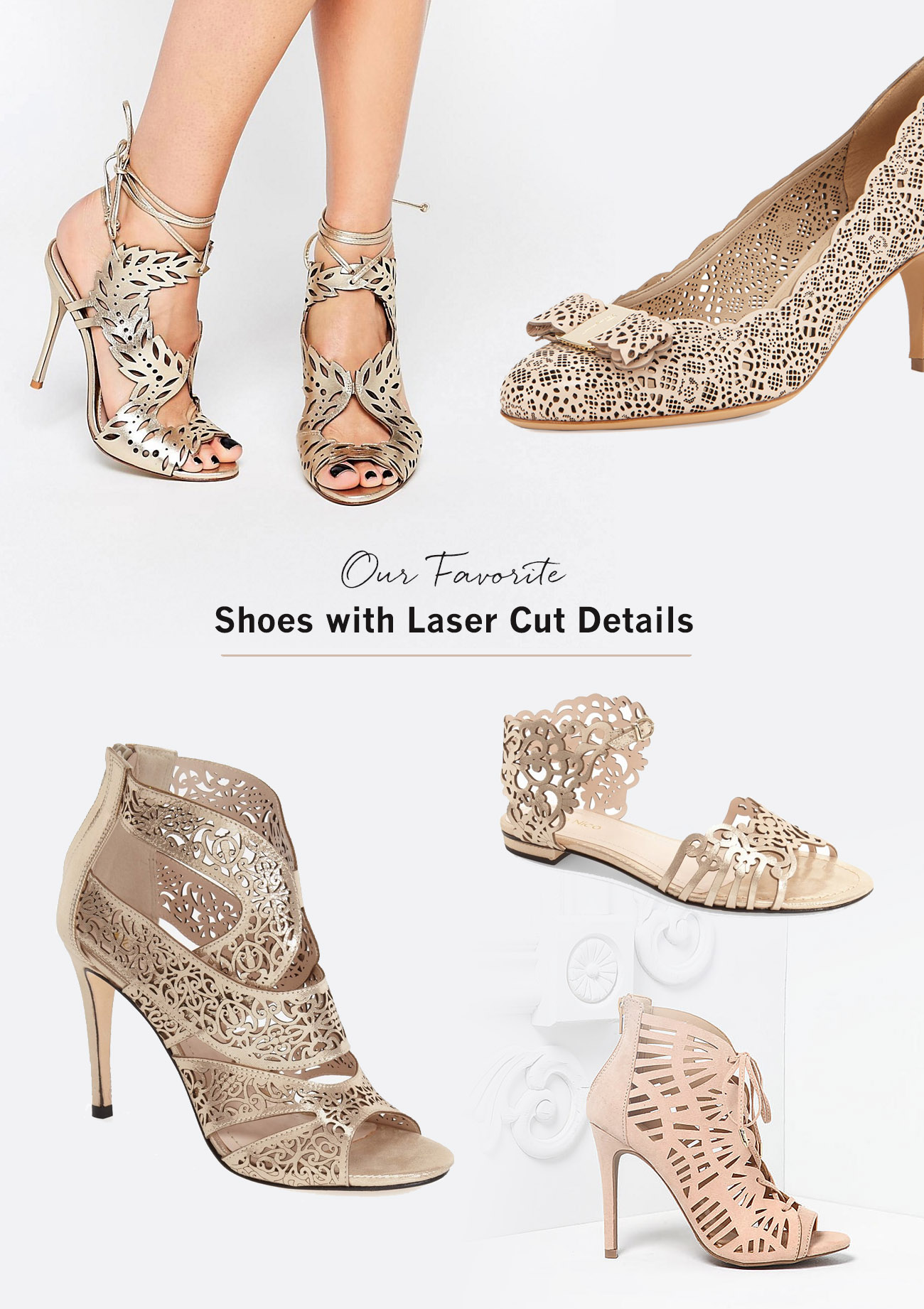 laser cut shoes for your wedding