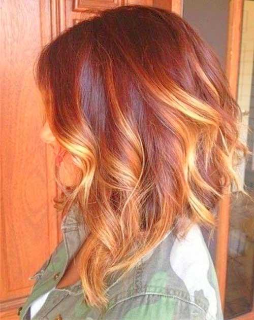 Hair Colors for Short Hair-16