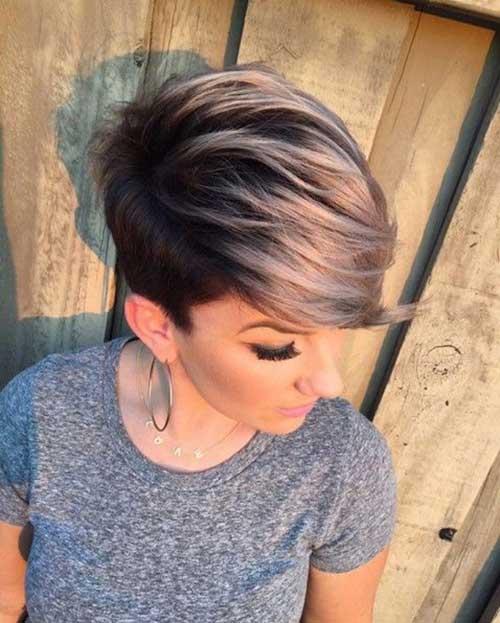 Hair Colors for Short Hair-18