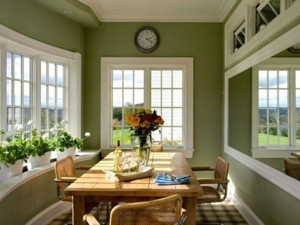 Green shades to paint walls (1)