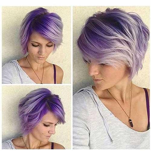 Hair Colors for Short Hair-7