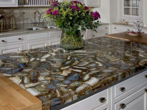 We make modern kitchen top natural stone kitchen for