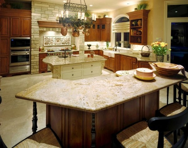 cool artwork plate of natural stone for kitchen