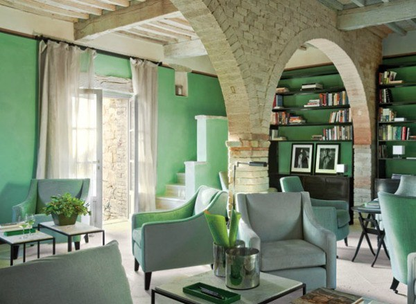 Best Decorating With Green Suggestions For Rooms And