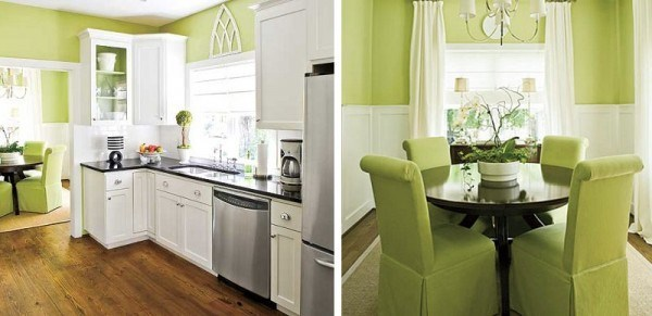 Green shades to paint walls (2)