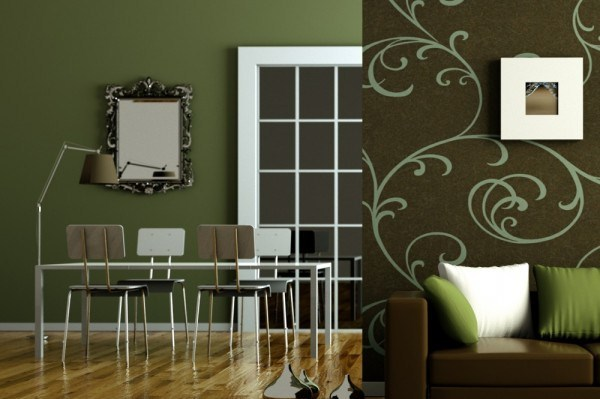 Green shades to paint walls (4)