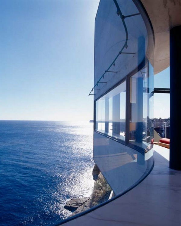 creative architecture beautiful house with panorama