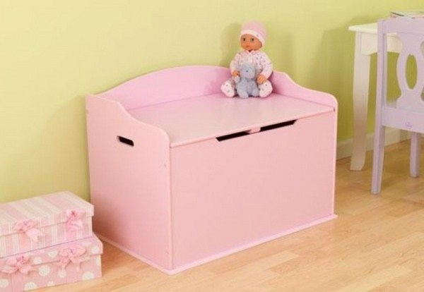 Toy boxes for a little girl