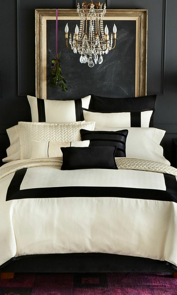 Trendy Color Schemes for Master Bedroom Color Schemes for Master Bedroom Trendy Color Schemes for Master Bedroom Room Decor Ideas Trendy Color Schemes for Master Bedroom Color Palette Luxury Bedroom Black White 1