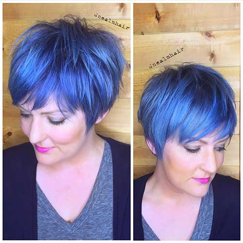 Hair Colors for Short Hair-12