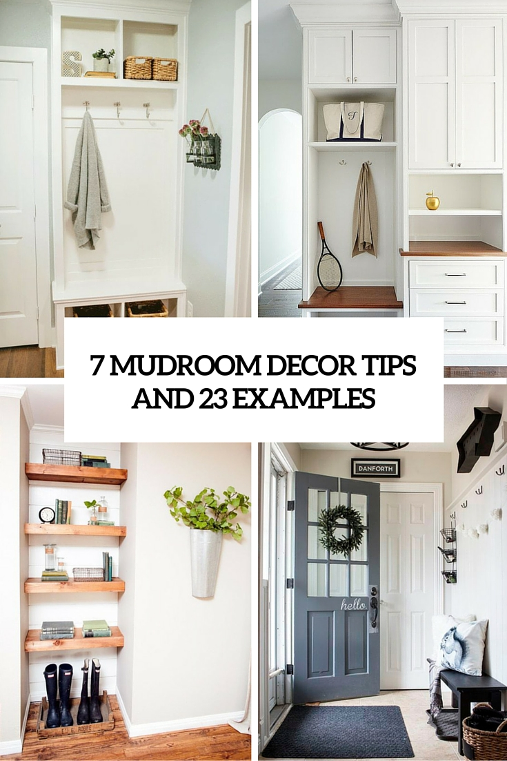 7 small mudroom d cor ideas and 23 suggestions to put into for Cost to build a mudroom