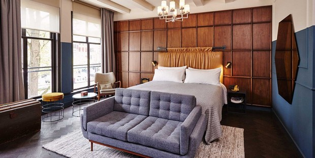 5 hotel design suites to inspire your bedroom decor for Decor your hotel