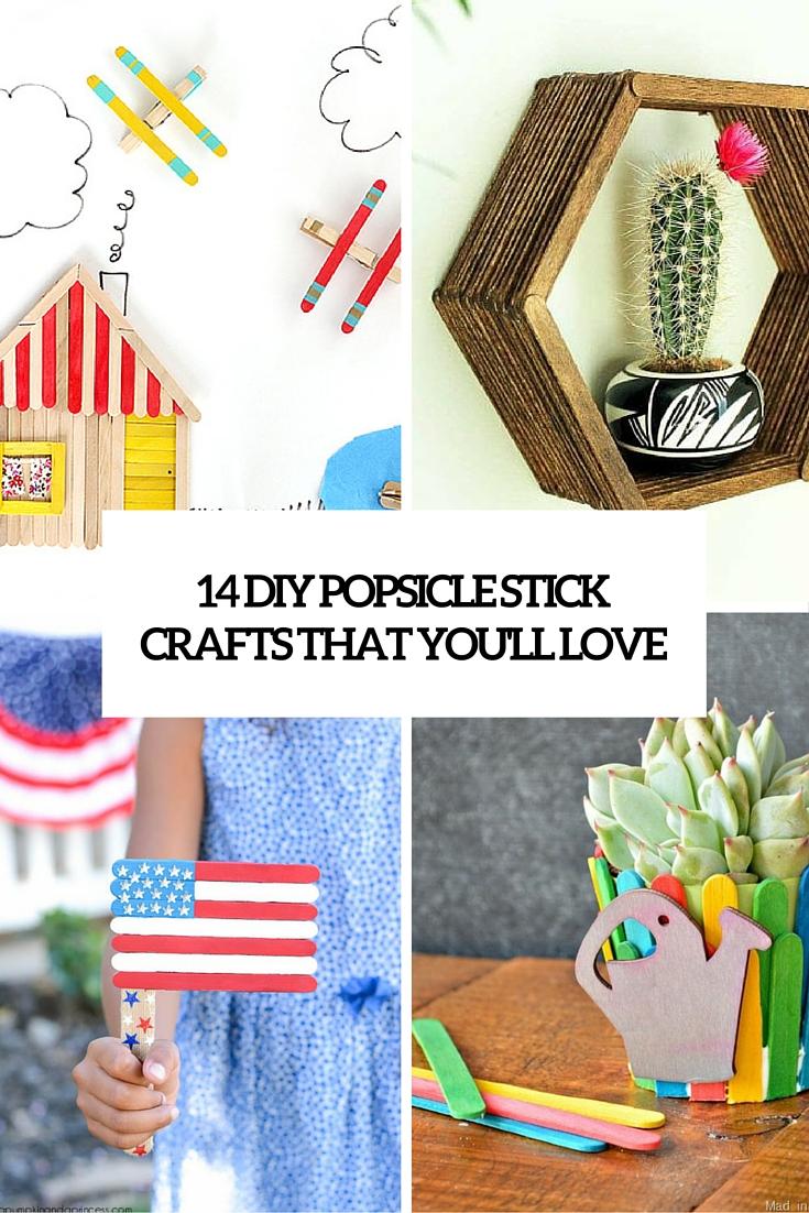 14 Diy Cool Popsicle Sticks Crafts You Ll Adore Decor10 Blog