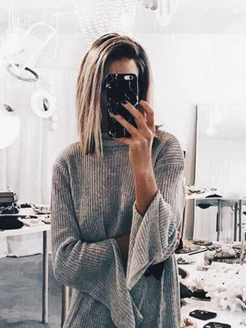 Short Haircuts for Thin Straight Hair-11