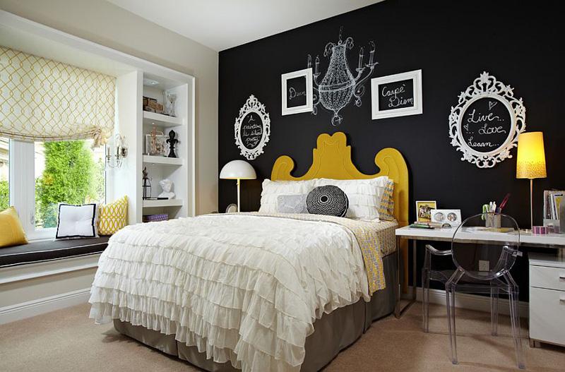 Creative Bedrooms with Chalkboards-DESIGNRULZ (5)
