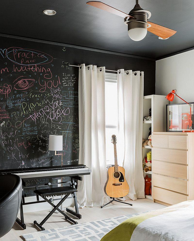 Creative Bedrooms with Chalkboards-DESIGNRULZ (6)