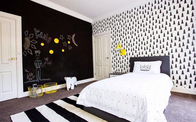 Creative Bedrooms with Chalkboards-DESIGNRULZ (26)