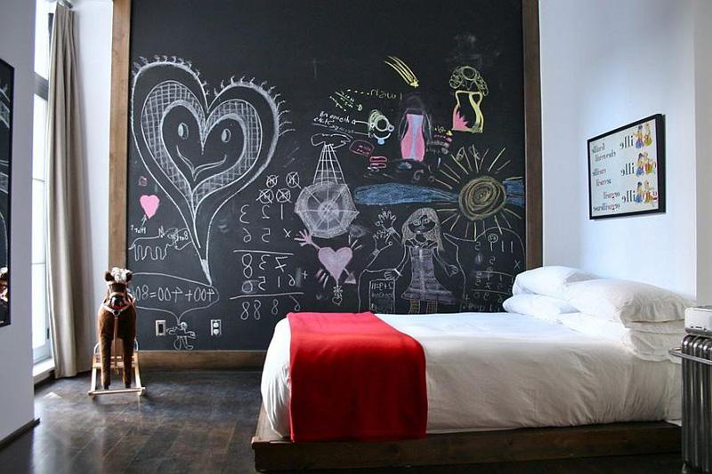 Creative Bedrooms with Chalkboards-DESIGNRULZ (27)